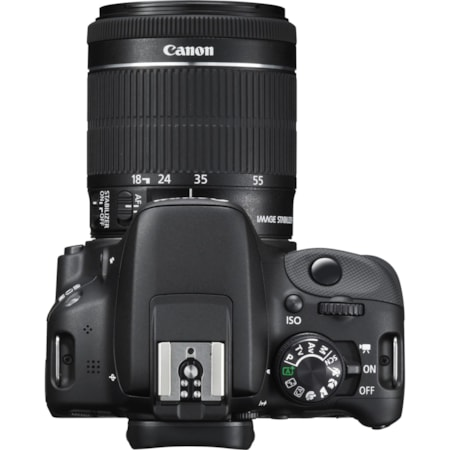 Canon EOS 100D 18 Megapixel Digital SLR Camera with Lens - 18 mm - 55 mm (Lens 1), 55 mm - 250 mm (Lens 2)