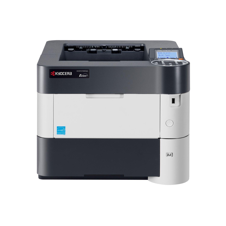 Kyocera Ecosys P3055dn Laser Printer - Monochrome - 1200 dpi Print - Plain Paper Print - Desktop