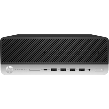 HP Business Desktop ProDesk 600 G3 Desktop Computer - Intel Core i5 (7th Gen) i5-7500 3.40 GHz - 8 GB DDR4 SDRAM - 256 GB SSD - Windows 10 Pro 64-bit - Small Form Factor