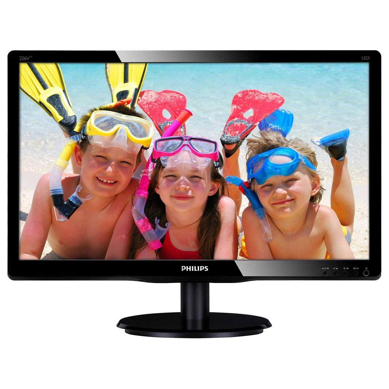 "Philips V-line 226V4LAB 21.5"" LED LCD Monitor"