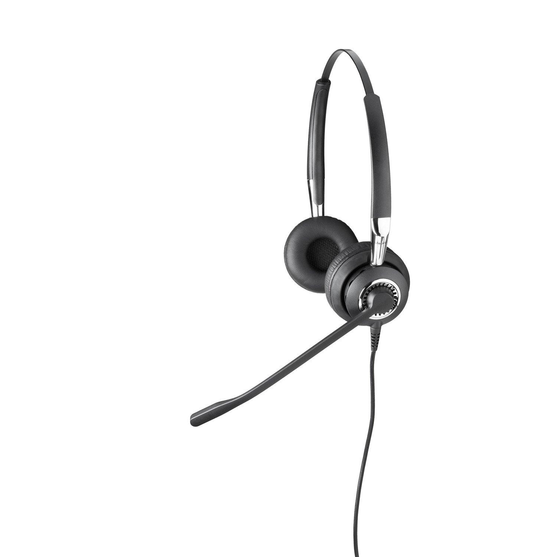 Jabra BIZ 2400 II QD Wired Stereo Headset - Over-the-head - Supra-aural