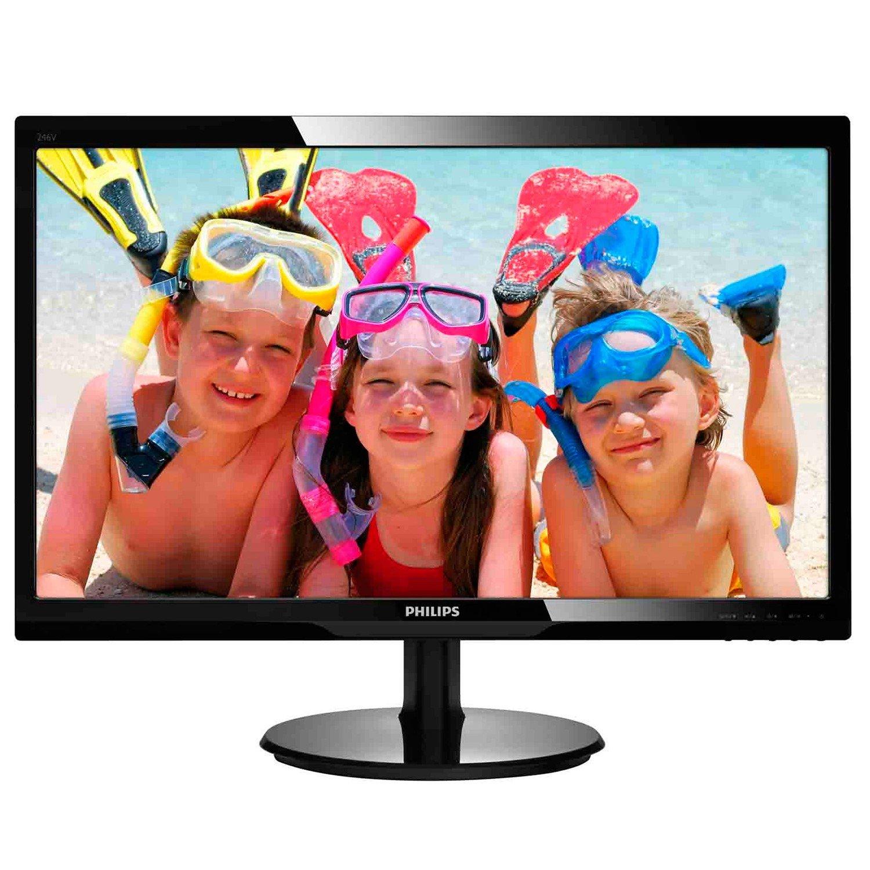 "Philips 246V5LHAB 61 cm (24"") LED LCD Monitor - 16:9 - 5 ms"