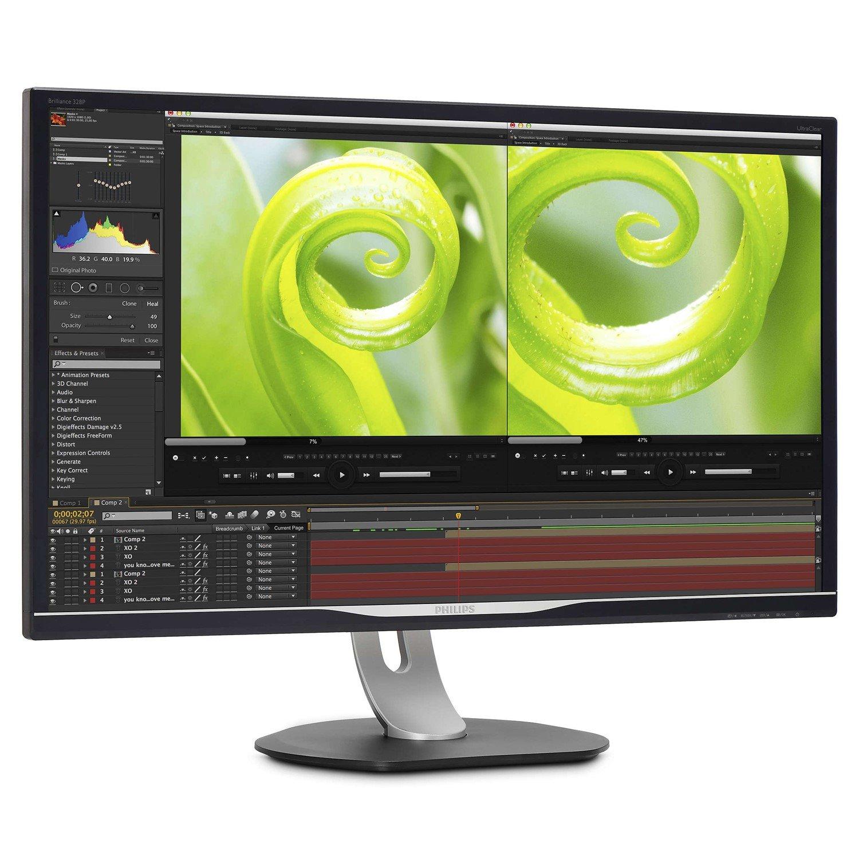 "Philips Brilliance 328P6VJEB 81.3 cm (32"") LED LCD Monitor - 16:9 - 4 ms"