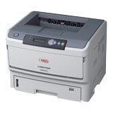 Oki B820N LED Printer - Monochrome - 2400 x 600 dpi Print - Plain Paper Print - Desktop