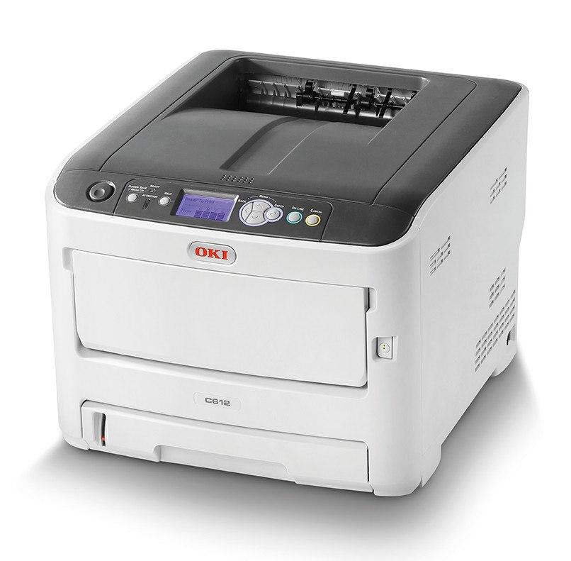Oki C600 C612n LED Printer - Colour - 1200 x 600 dpi Print - Plain Paper Print - Desktop