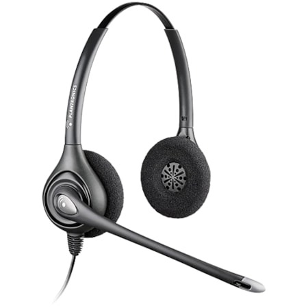 Plantronics SupraPlus HW261N Wired Stereo Headset - Over-the-head - Supra-aural
