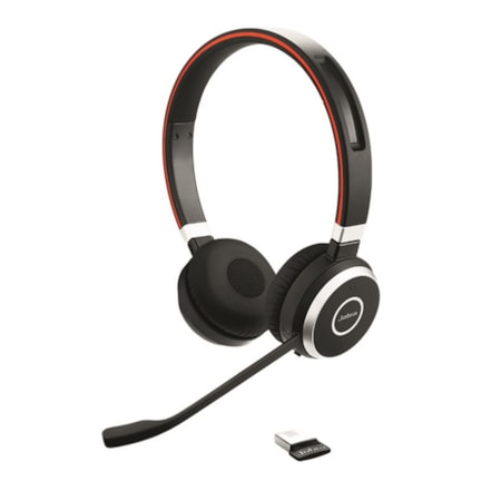 Jabra EVOLVE 65 MS Wireless Bluetooth Stereo Headset - Over-the-head - Supra-aural