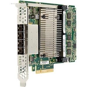 HPE SAS Controller - 12Gb/s SAS, Serial ATA/600 - PCI Express 3.0 x8 - 4 GB - Plug-in Card