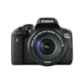 Canon EOS 750D 24.2 Megapixel Digital SLR Camera with Lens - 18 mm - 135 mm - Black