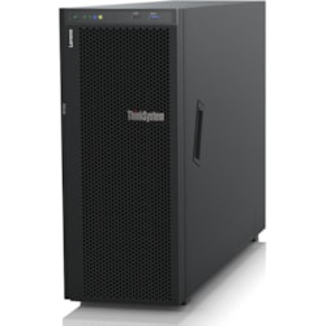 Lenovo ThinkSystem ST550 7X101002AU 4U Tower Server - 1 x Intel Xeon Silver 4110 Octa-core (8 Core) 2.10 GHz - 16 GB Installed TruDDR4 - 12Gb/s SAS, Serial ATA/600 Controller - 0, 1, 5, 6, 10, 50, 60, JBOD RAID Levels - 1 x 750 W