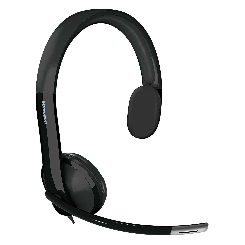Microsoft LifeChat LX-4000 Wired Mono Headset - Over-the-head - Semi-open