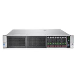 HPE ProLiant DL380 G9 2U Rack Server - 1 x Intel Xeon E5-2609 v4 Octa-core (8 Core) 1.70 GHz - 8 GB Installed DDR4 SDRAM - Serial ATA/600 Controller - 0, 1, 5, 10 RAID Levels - 1 x 500 W