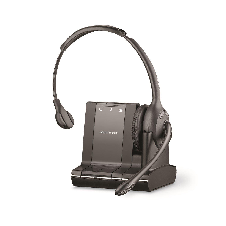 Plantronics Savi W710 Wireless DECT Mono Headset - Over-the-head - Supra-aural