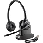 Plantronics Savi W410A-M Wireless DECT Mono Headset - Over-the-head - Supra-aural