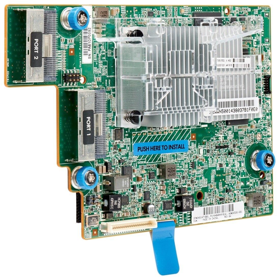 HPE Smart Array P840ar SAS Controller - 12Gb/s SAS - PCI Express 3.0 x8 - 2 GB Flash Backed Cache - Plug-in Card