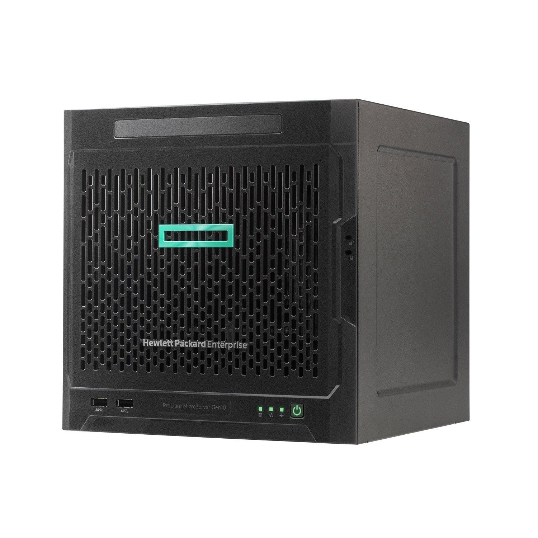 HPE ProLiant MicroServer Gen10 Ultra Micro Tower Server - 1 x AMD Opteron X3216 Dual-core (2 Core) 1.60 GHz - 8 GB Installed DDR4 SDRAM - 1 TB (1 x 1 TB) Serial ATA/600 HDD - ClearOS - Serial ATA/600 Controller - 0, 1, 10 RAID Levels - 1 x 200 W