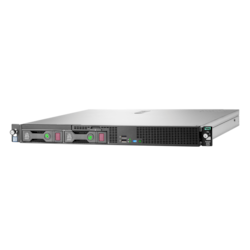 HPE ProLiant DL20 G9 1U Rack Server - 1 x Intel Xeon E3-1220 v6 Quad-core (4 Core) 3 GHz - 8 GB Installed DDR4 SDRAM - Serial ATA/600 Controller - 0, 1, 5, 10 RAID Levels - 1 x 290 W