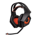 ROG Strix Wired/Wireless Bluetooth 60 mm Stereo Headset - Over-the-head - Circumaural - Black, Orange