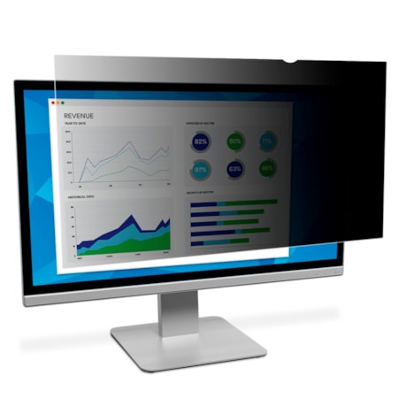 "3M PF24.0W9 Privacy Filter for 24"" Widescreen LCD Monitors"