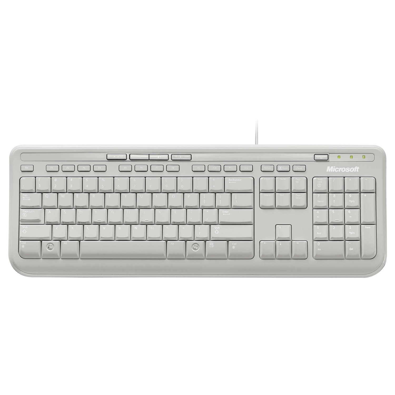 Old Fashioned Microsoft Wired Keyboard 600 1576 Festooning - Wiring ...