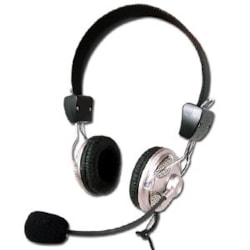 LASER Wired Stereo Headset - Over-the-head - Ear-cup