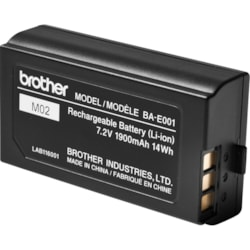 Brother BA-E001 Handheld Device Battery - 1900 mAh