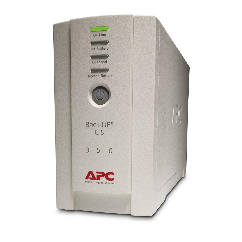APC by Schneider Electric Back-UPS BK350EI Standby UPS - 350 VA/210 W