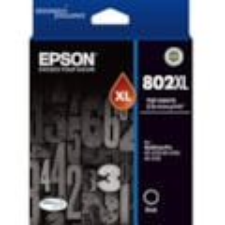 Epson DURABrite Ultra 802XL Ink Cartridge - Black
