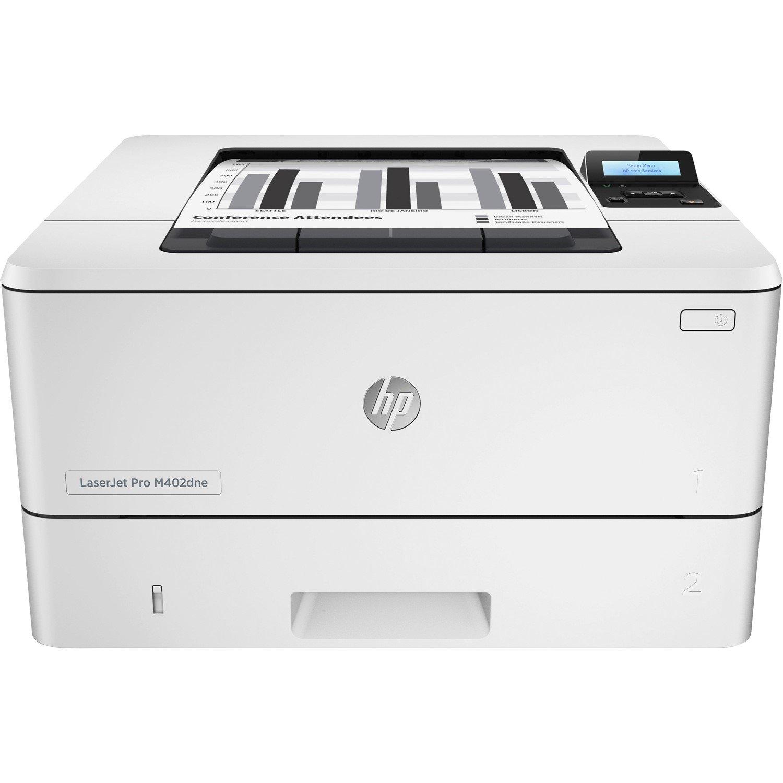 HP LaserJet Pro M402dne Laser Printer - Monochrome - 4800 x 600 dpi Print - Plain Paper Print - Desktop