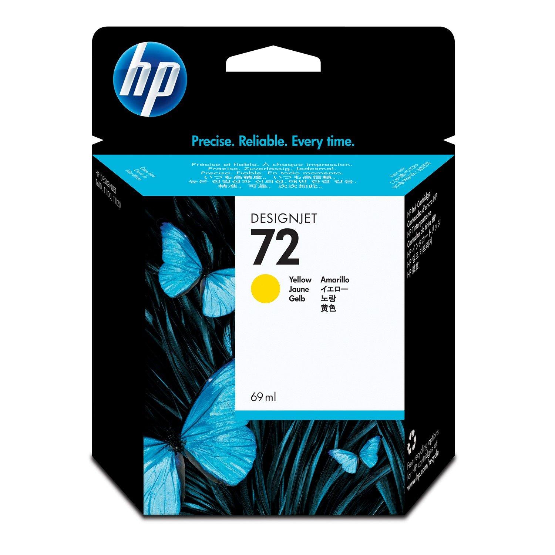 HP 72 Original Ink Cartridge - Yellow