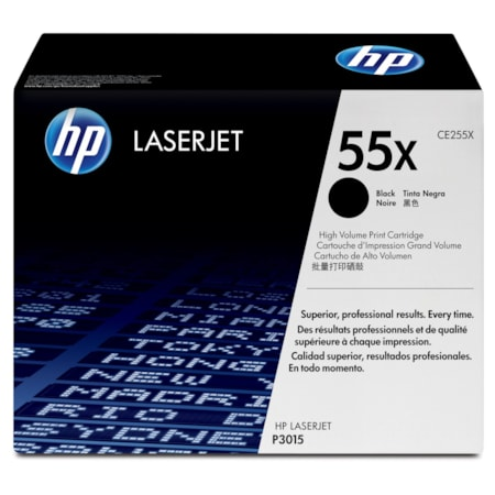 HP 55X Original Toner Cartridge - Black