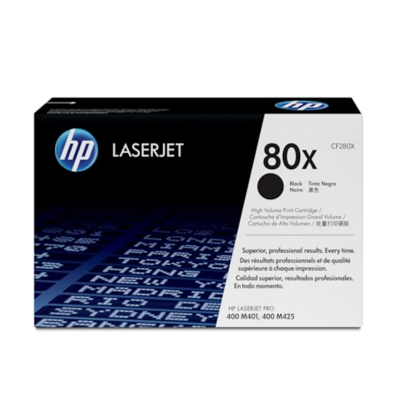 HP 80X Original Toner Cartridge - Black