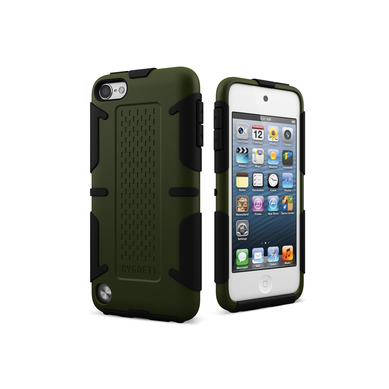 Cygnett WorkMate Case for iPod - Khaki, Black