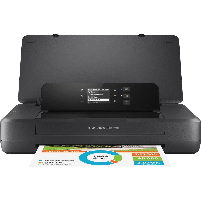 HP Officejet 200 Inkjet Printer - Colour - 4800 x 1200 dpi Print - Photo Print - Portable