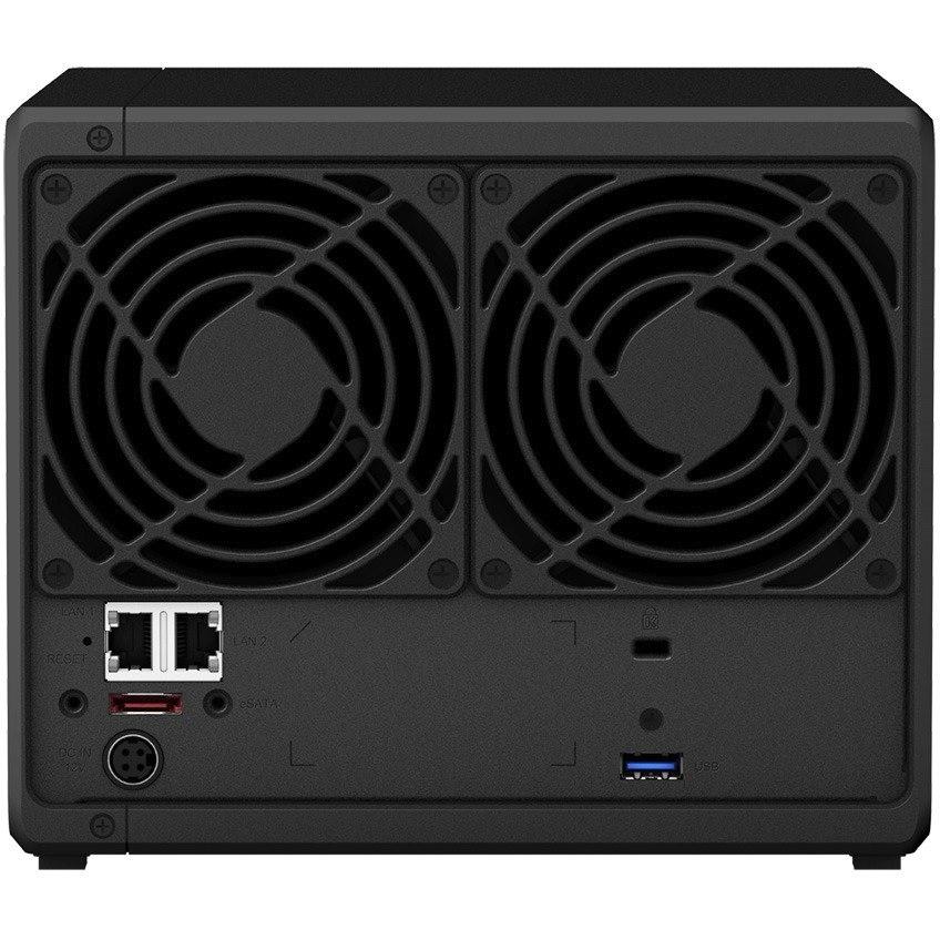 Synology DiskStation DS918+ 4 x Total Bays SAN/NAS Storage System - Desktop