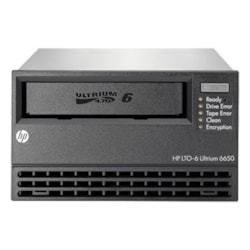 HPE StoreEver LTO-6 Tape Drive - 2.50 TB (Native)/6.25 TB (Compressed) - Black