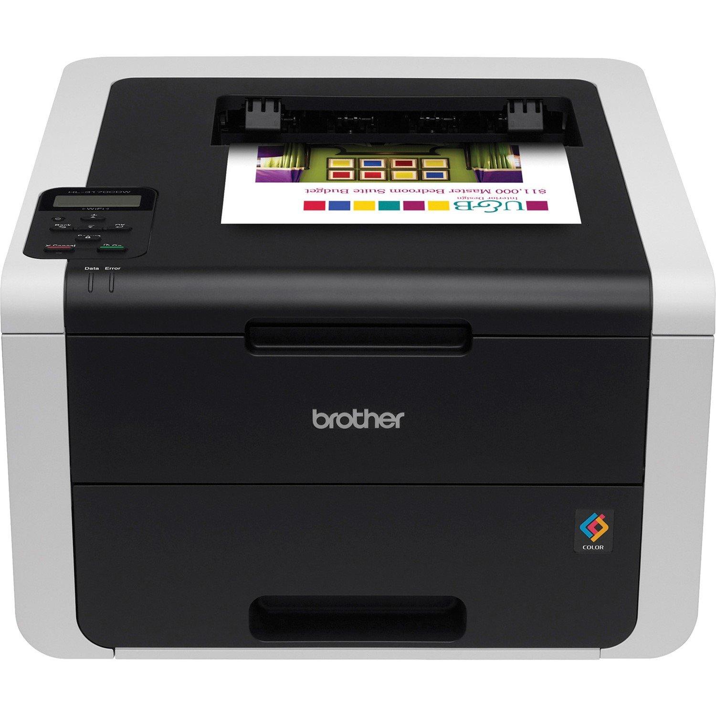 Brother HL-3170CDW LED Printer - Colour - 2400 x 600 dpi Print - Plain Paper Print - Desktop