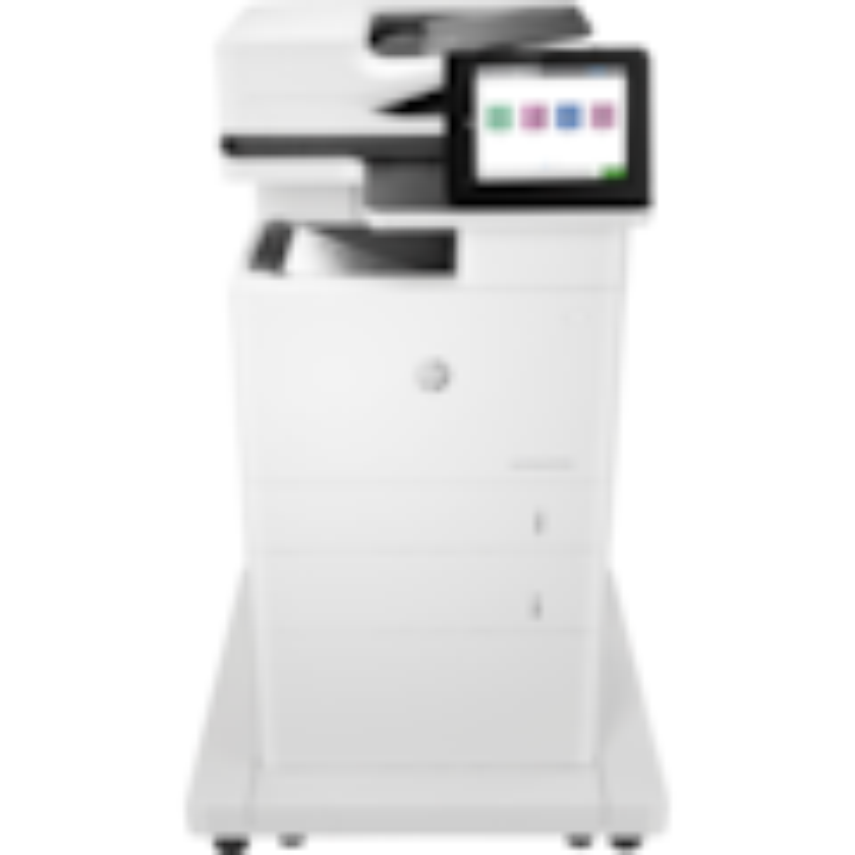 HP LaserJet M632fht Laser Multifunction Printer - Monochrome - Plain Paper Print - Desktop