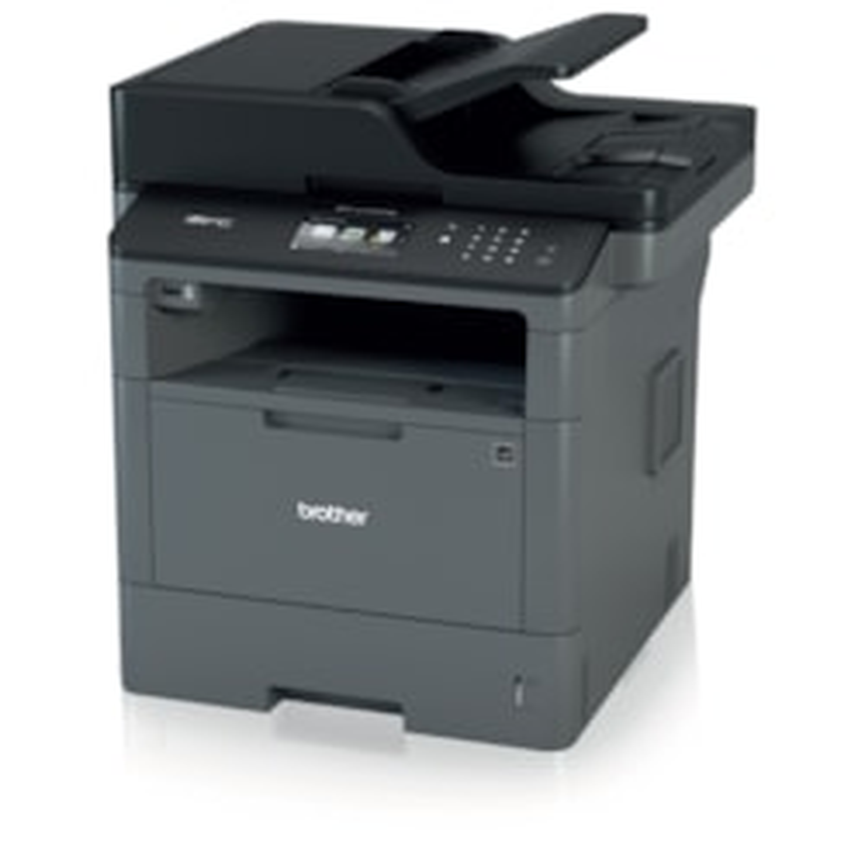 Brother MFCL5755DW Laser Multifunction Printer - Monochrome - Plain Paper Print - Desktop
