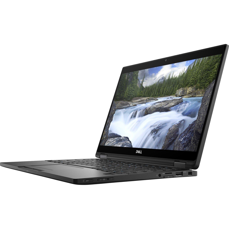 """Dell Latitude 7000 7390 33.8 cm (13.3"""") Touchscreen LCD 2 in 1 Notebook - Intel Core i5 (8th Gen) i5-8250U Quad-core (4 Core) 1.60 GHz - 8 GB LPDDR3 - 256 GB SSD - Windows 10 Pro 64-bit (English) - 1920 x 1080 - Convertible"""