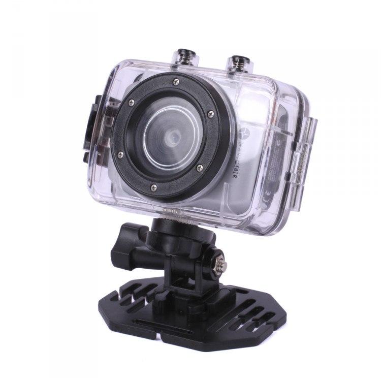 """Navig8r SportyCam Digital Camcorder - 4.3 cm (1.7"""") LCD - CMOS - HD - Silver"""