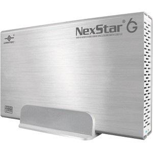 Vantec NexStar 6G NST-366S3-SV Drive Enclosure External - Silver