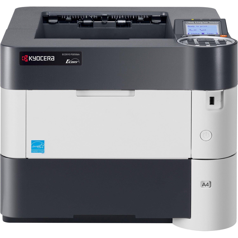 Kyocera Ecosys P3050dn Laser Printer - Monochrome - 1200 x 1200 dpi Print - Plain Paper Print - Desktop