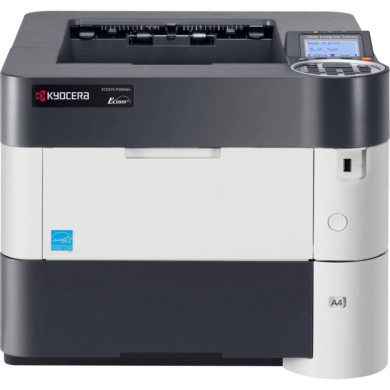 Kyocera Ecosys P3060dn Laser Printer - Monochrome - 1200 x 1200 dpi Print - Plain Paper Print - Desktop