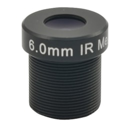 ACTi PLEN-4104 - 6 mm - f/1.8 - Fixed Lens for Board Mount