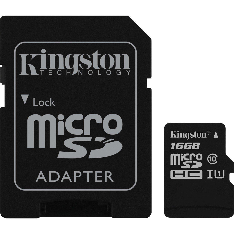 Kingston Canvas Select 16 GB microSDHC