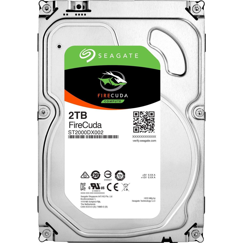 "Seagate FireCuda ST2000DX002 2 TB 3.5"" Internal Hybrid Hard Drive - SATA"
