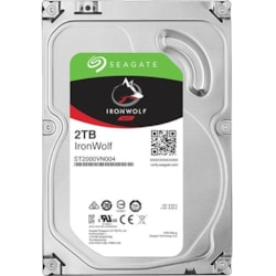 "Seagate IronWolf ST2000VN004 2 TB 3.5"" Internal Hard Drive - SATA"