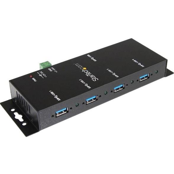 Buy StarTech.com USB/FireWire Combo Hub - USB - External   Computer ...