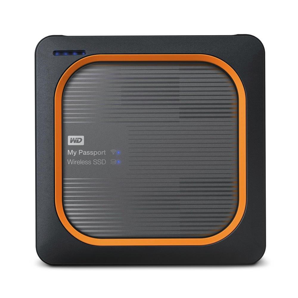 WD My Passport Wireless WDBAMJ5000AGY-PESN 500 GB External Network Solid State Drive - Portable